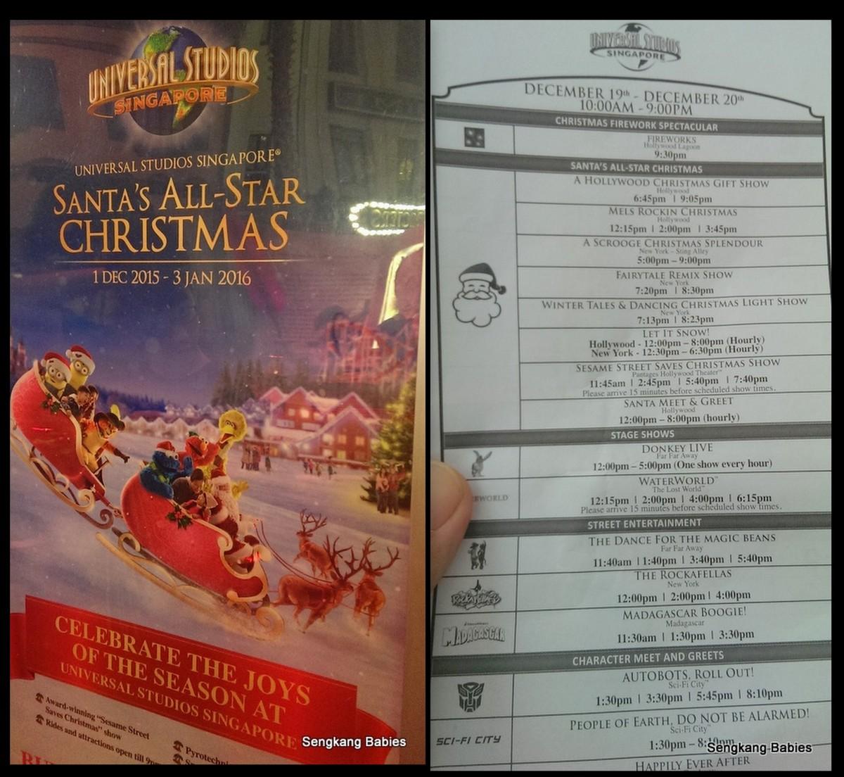 santa's All stars Christmas