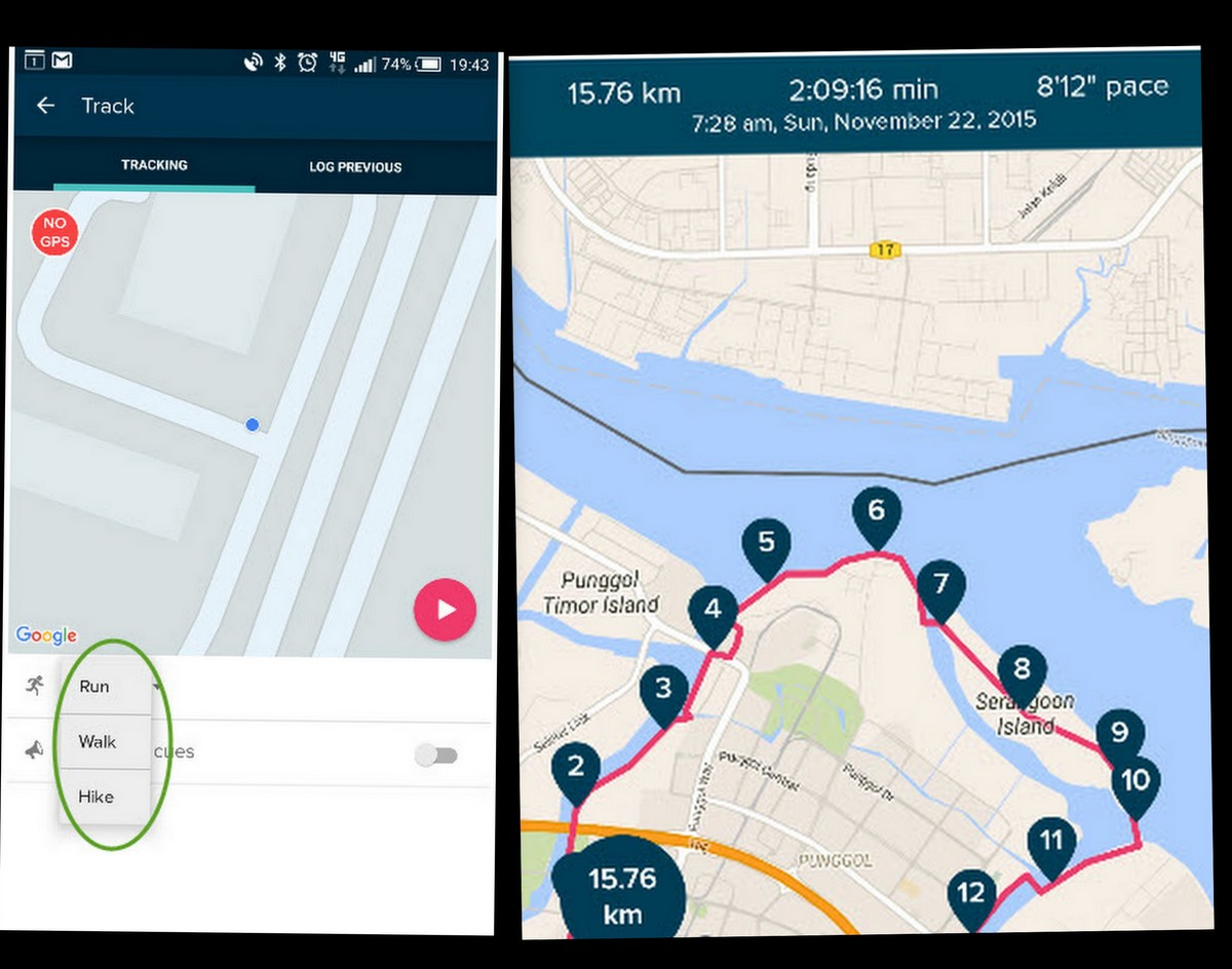Fitbit sports tracking