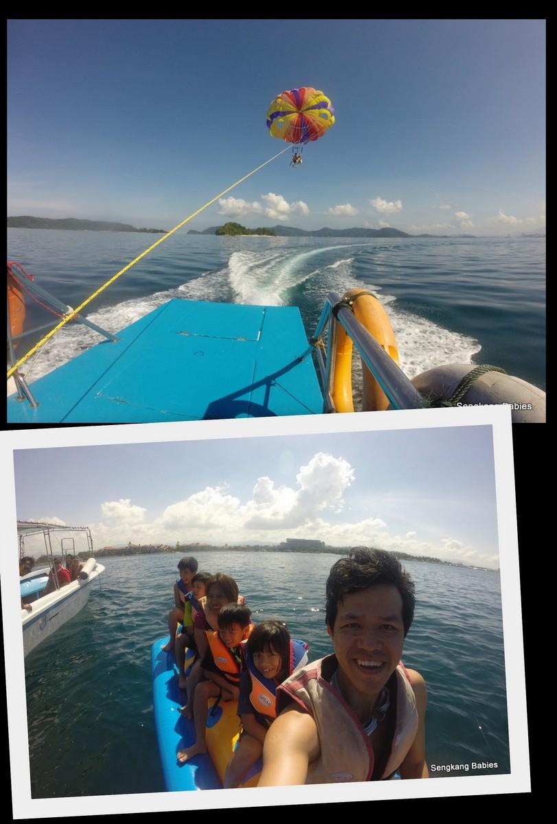 Parasailing Sabah