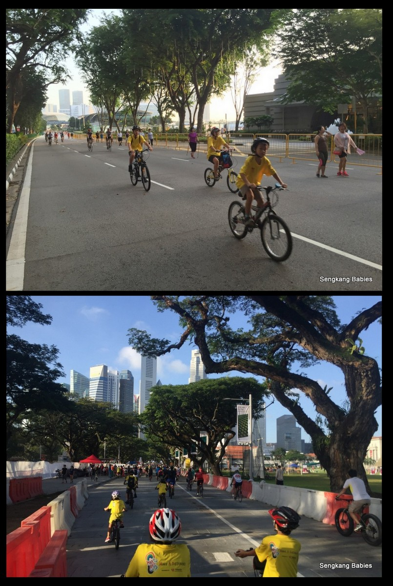 20160228 cycling Padang carfreeSunday5
