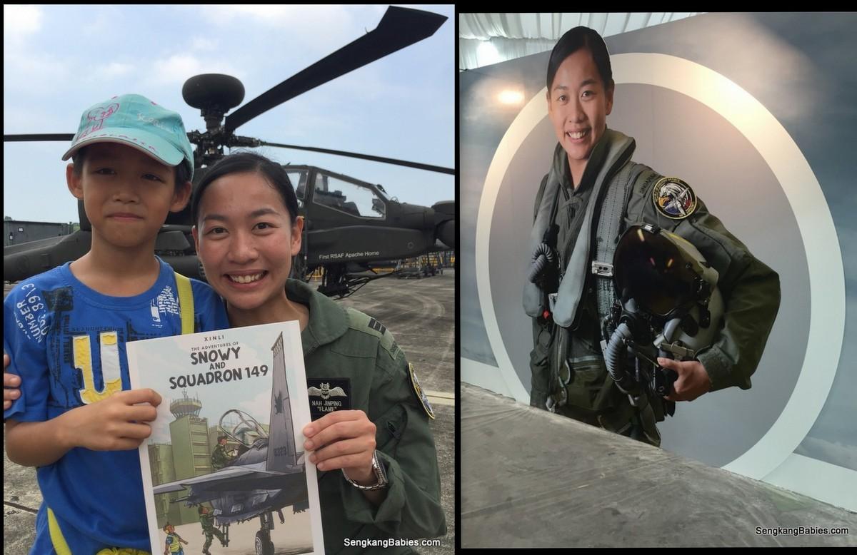 F15 woman pilot Captain Nah