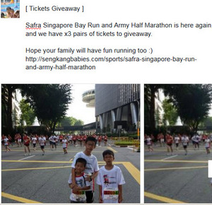 safra bay run tickets
