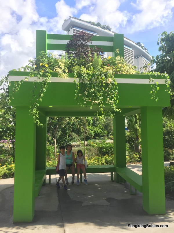 Chairs of the Giants Singapore Garden Festival