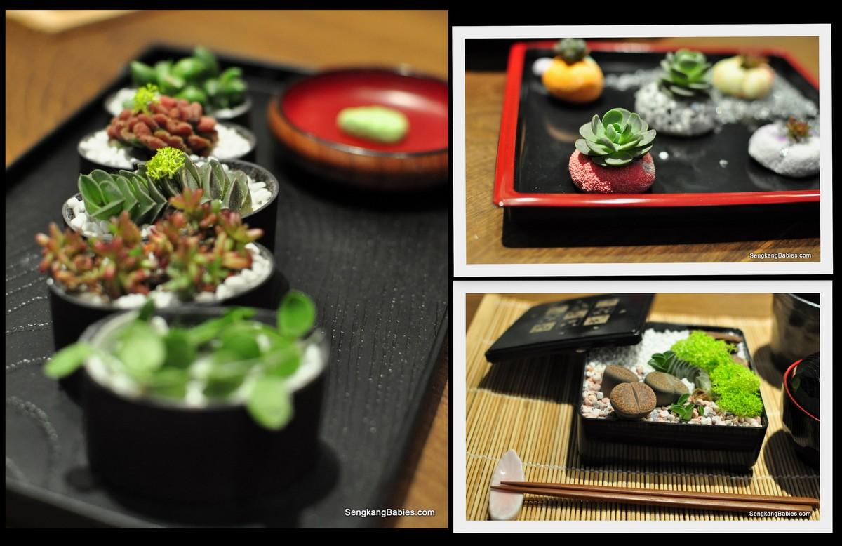 singapore garden festival Sushi