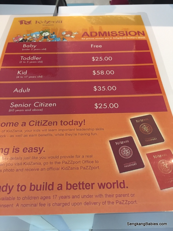 Kidzania Singapore Tickets