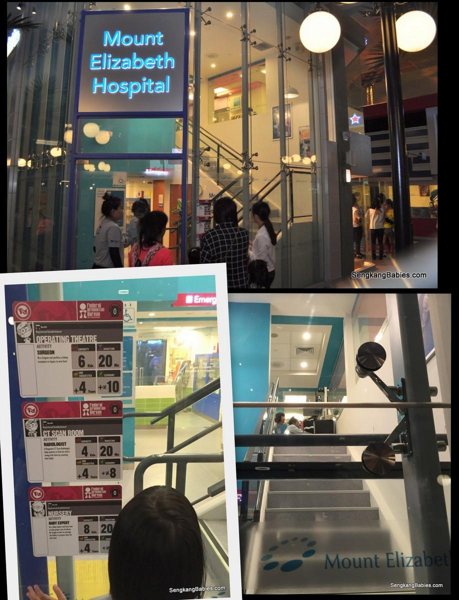 kidzania Singapore doctor