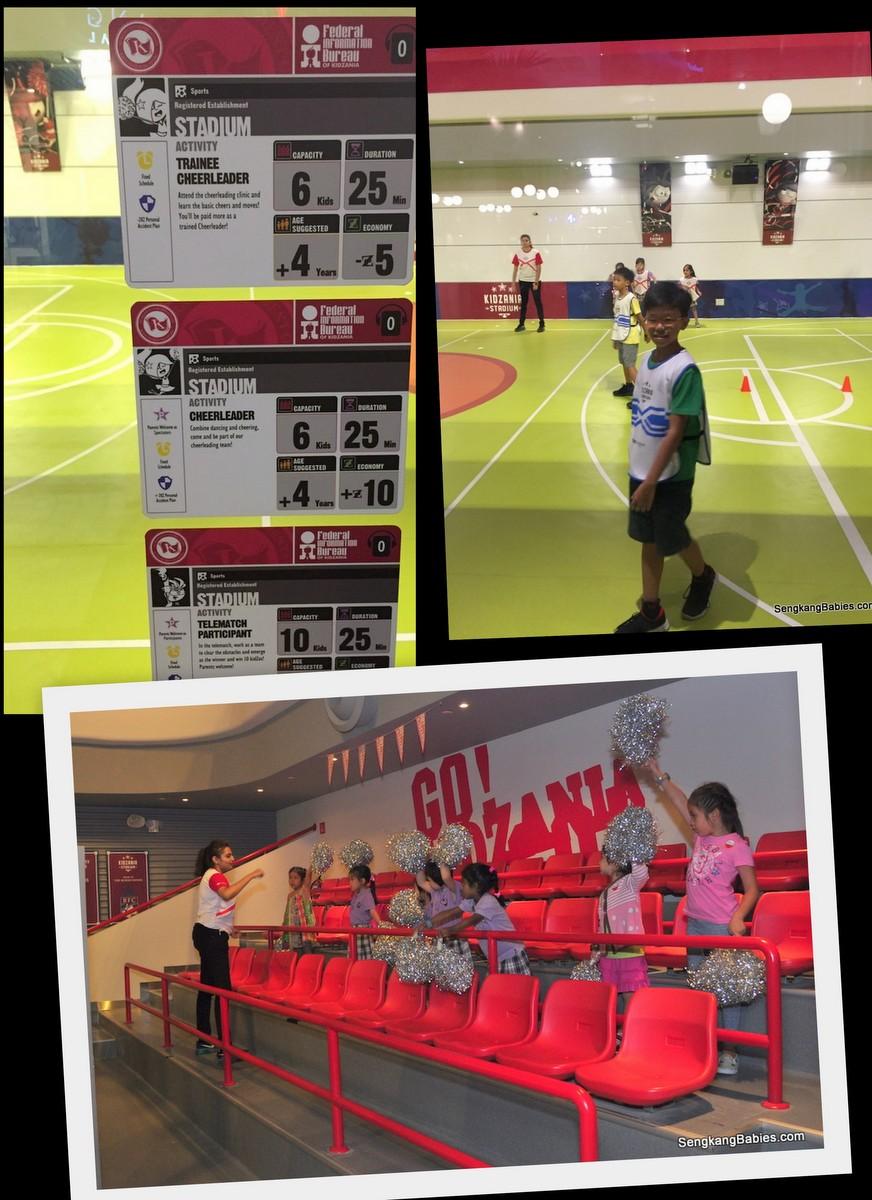 kidzania Singapore soccer
