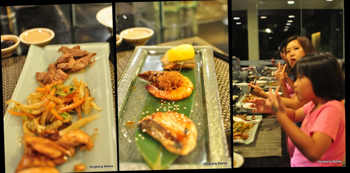 Gaya Island Resort Japansese food