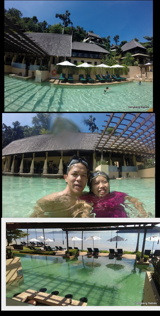 Gaya Island Resort swimming