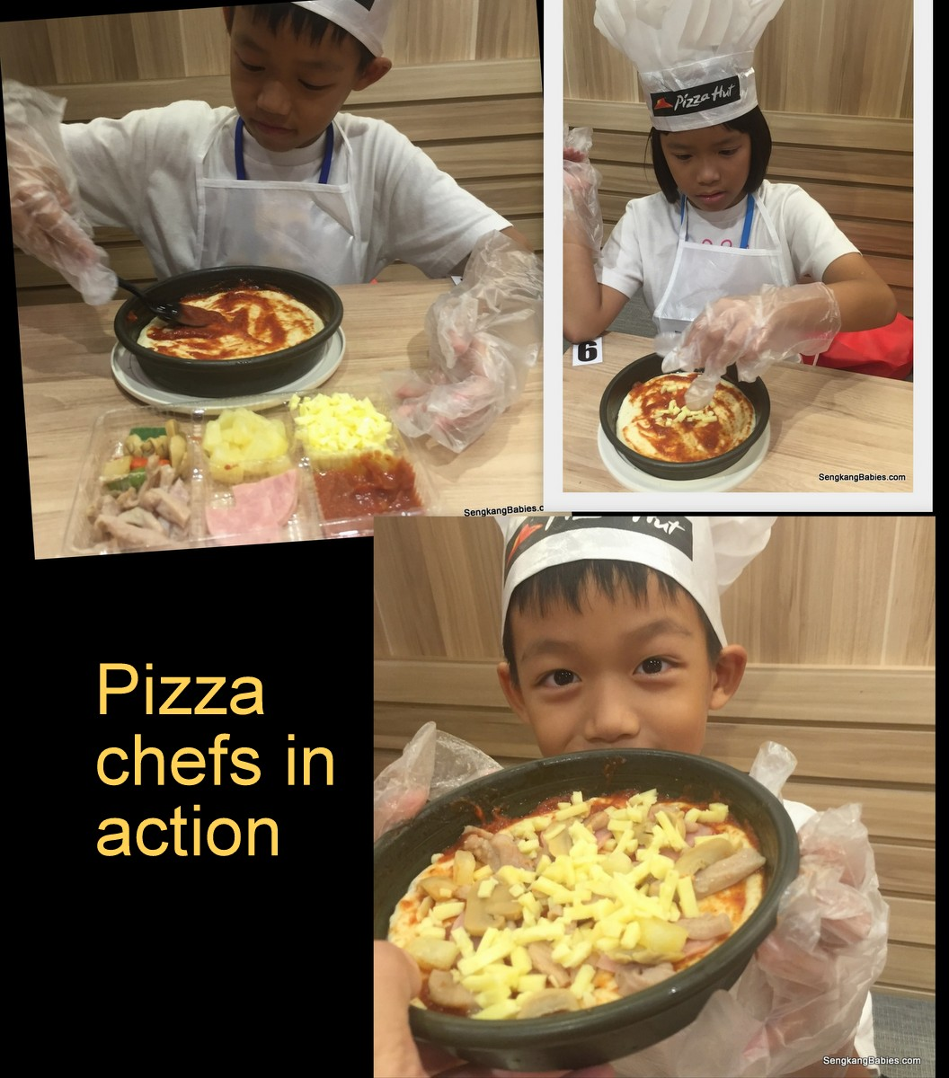 Pizza making workshops for kids