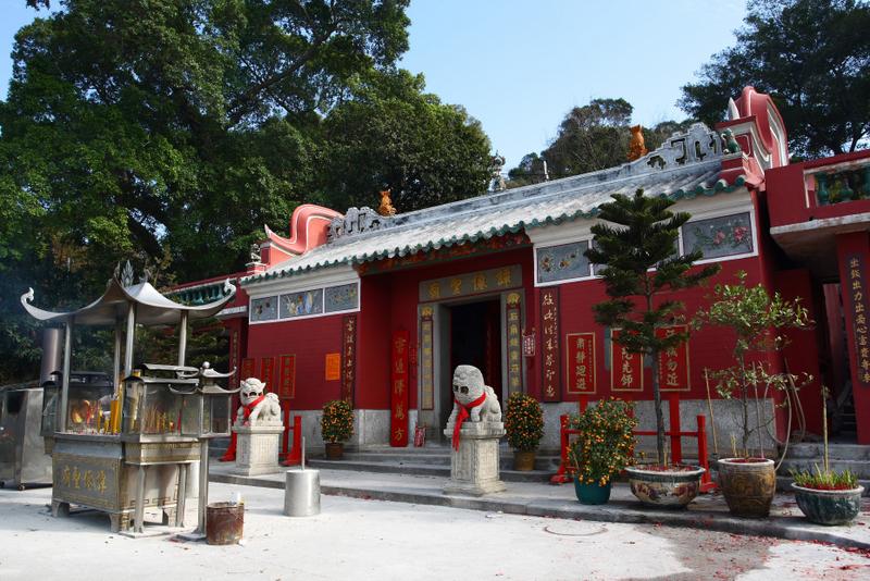 Ancient Temple of Kun Iam in Coloane
