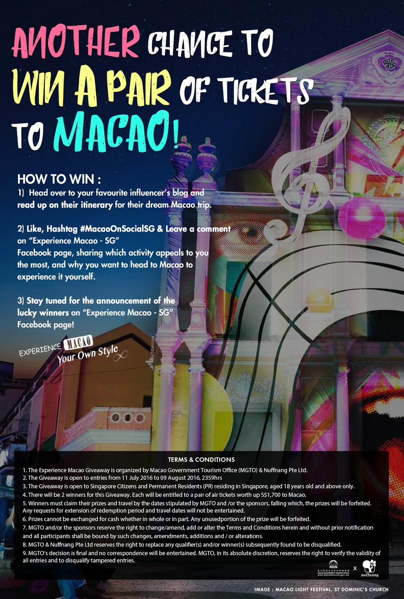 Macao contest