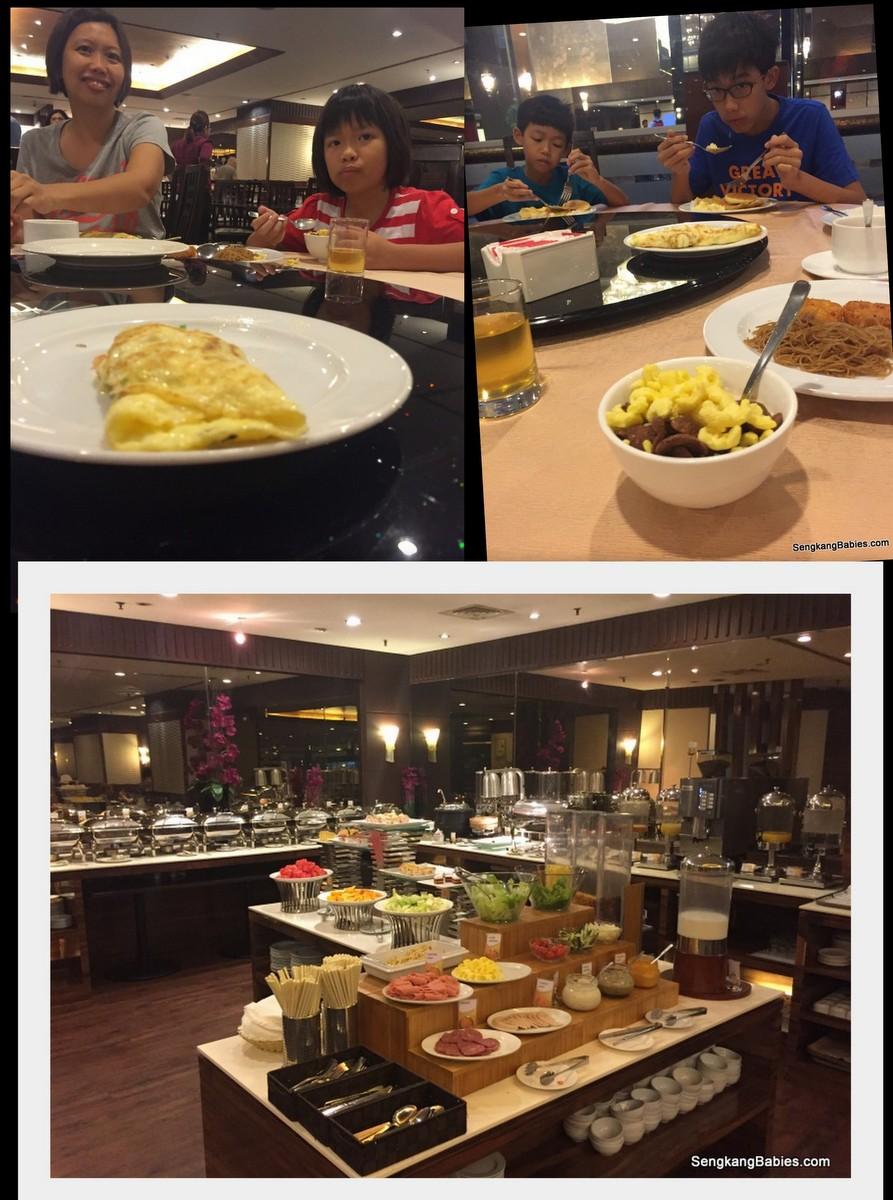 breakfast Bugis Village hotel