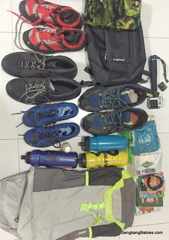 deacthlon hiking shoes