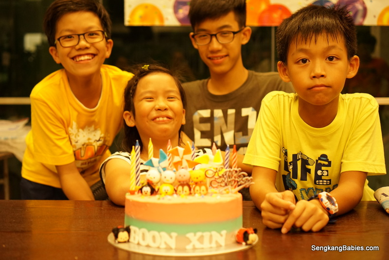 Boon Xin's 8th Birthday