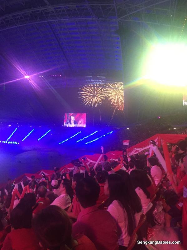 Fireworks National Stadium indoor