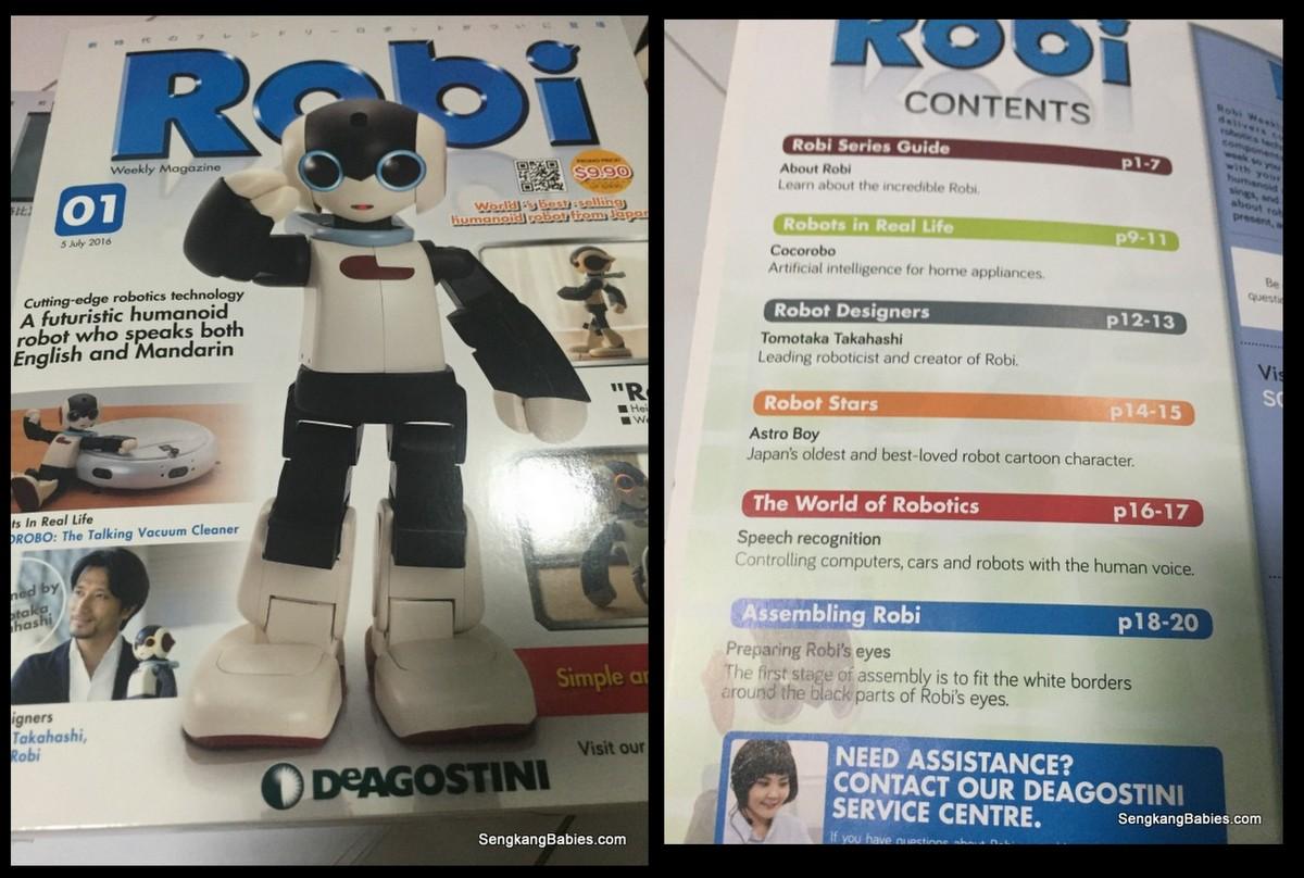 Robi magazines