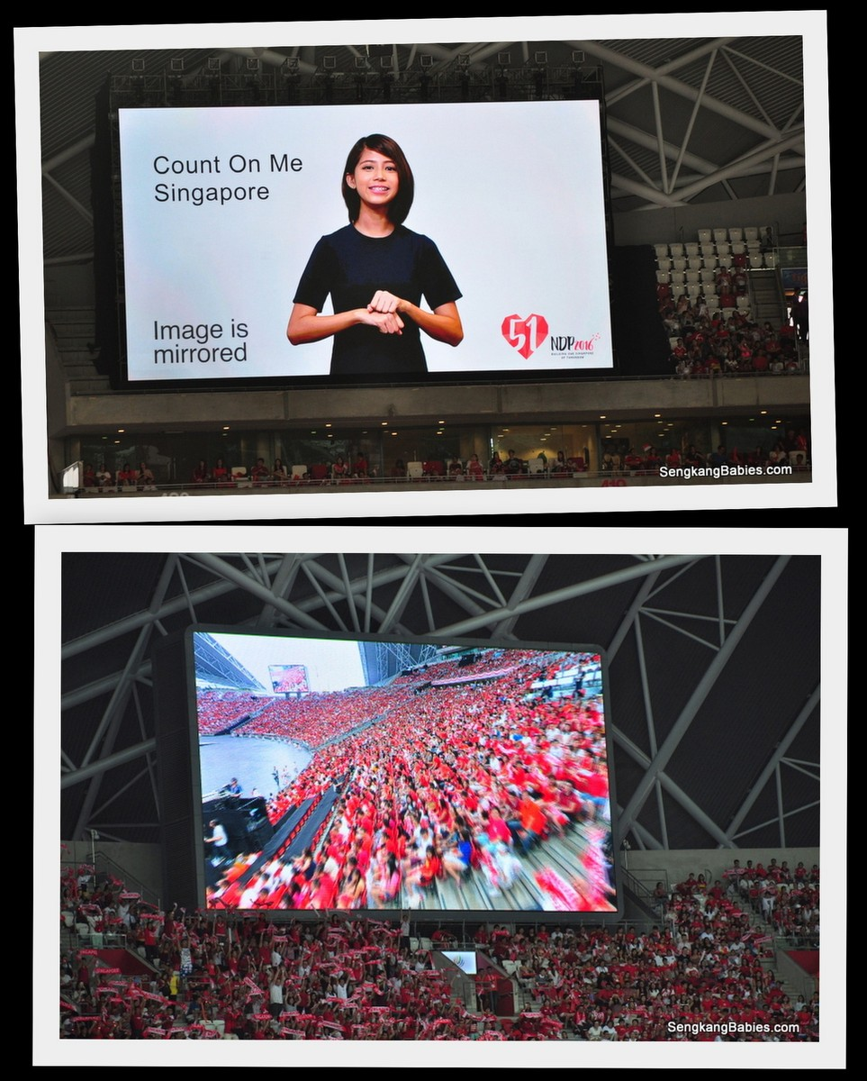 Sign language Count on Me Singapore NDP
