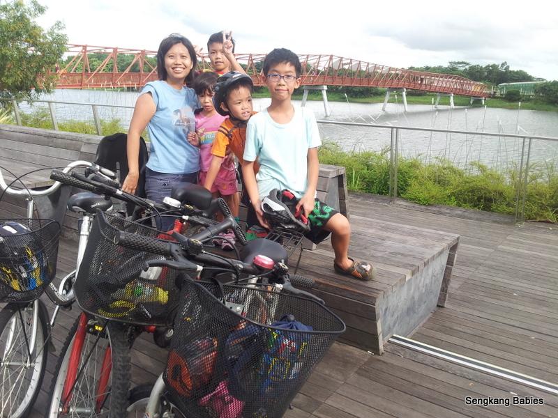 Punggol Promenade cycling