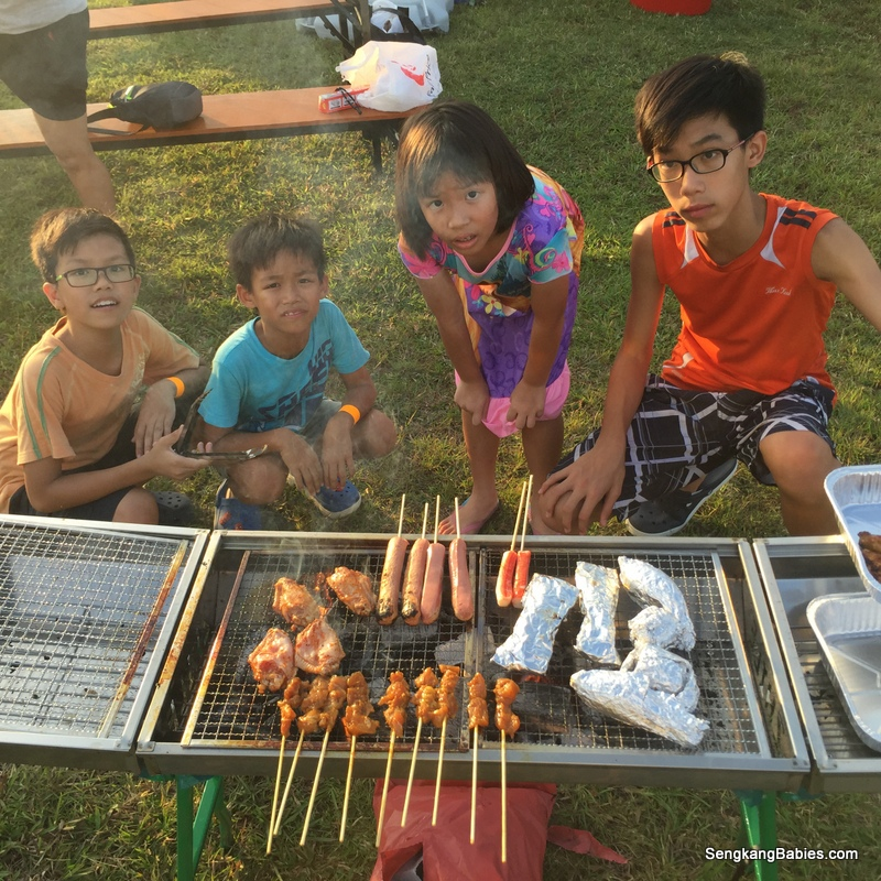 family bbq experience