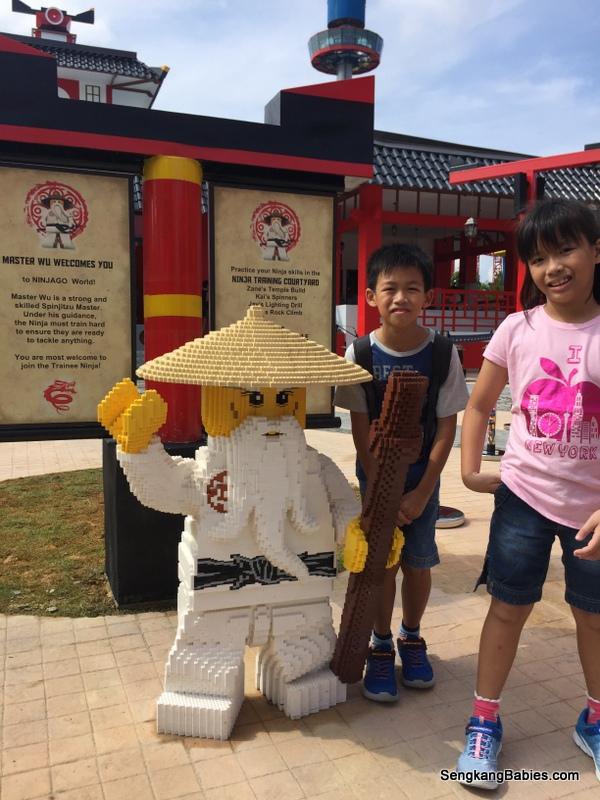 We dispatched two Ninjas to NinjaGo Legoland Malaysia