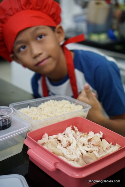 Cook your own chicken rice at Creative Culinaire