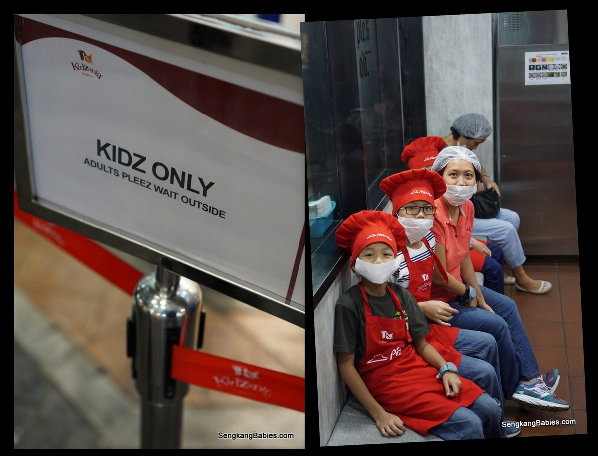 Kidzania with parents