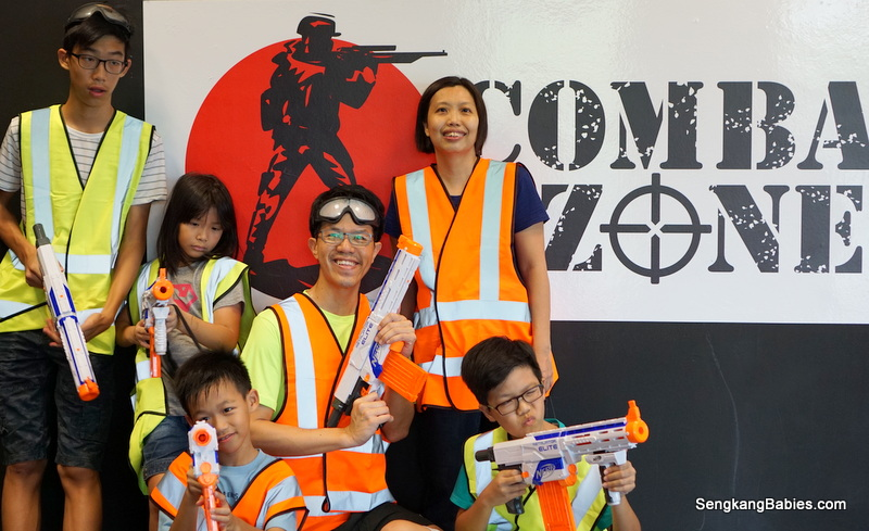 Nerf Gun Fun at Combat Zone