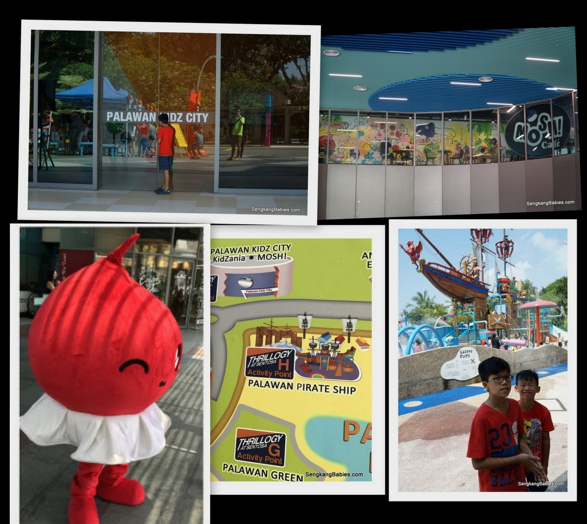Sentosa school holiday activities