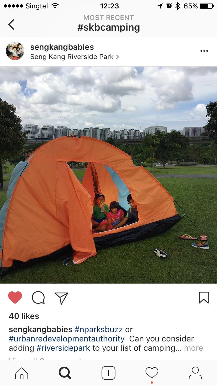 Camping gear Singapore