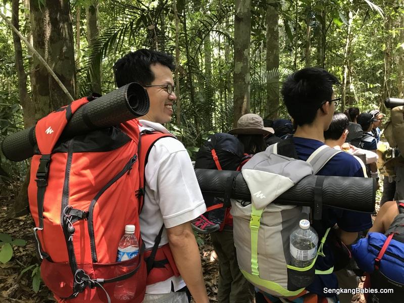 Family bonding Taman Negara