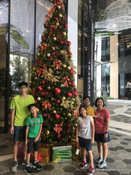 Staycation at hotel Novotel Singapore on Stevens