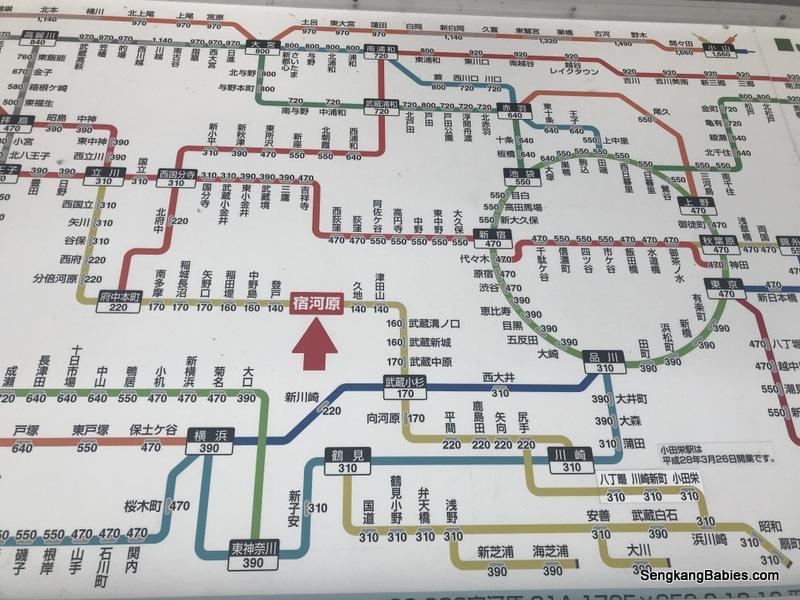 tokyo train map Archives Sengkang Babies