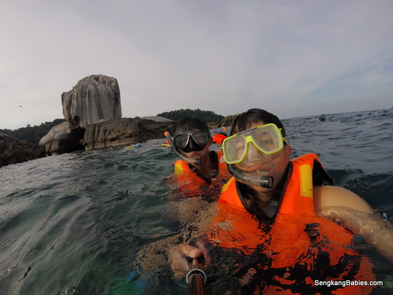 Tioman snorkeling