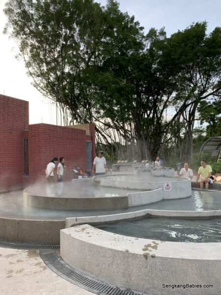 Sembawang Hot Spring experience is Happening