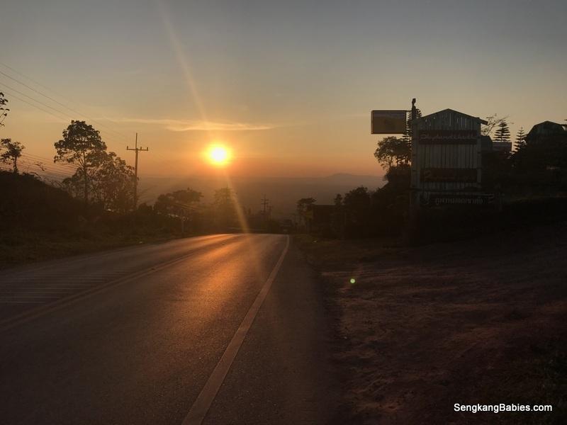 Sunset Khao Kho