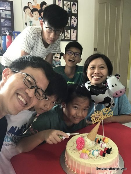Boon Xin 9th Birthday