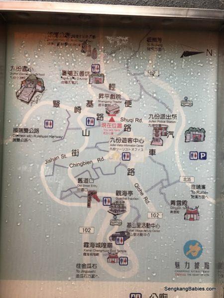 jiufen map