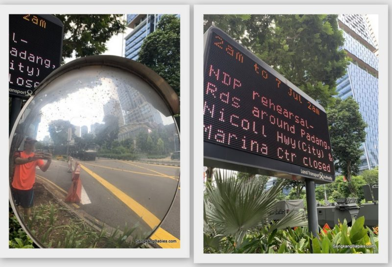 NDP 2019 road closures