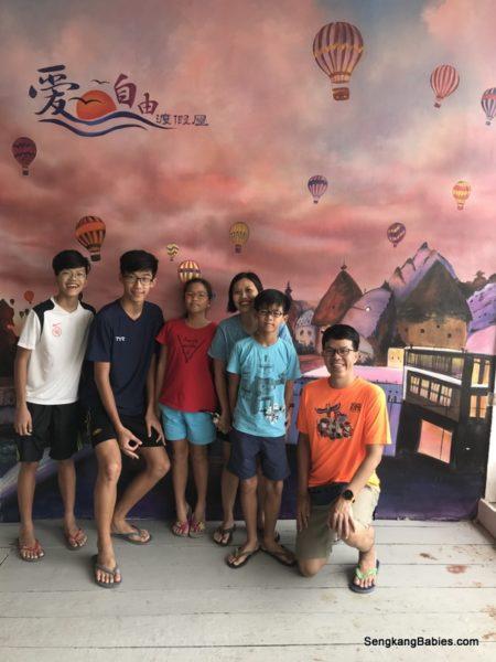 2D1N Kukup family trip