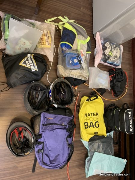 Packing for Taiwan East Coast cycling
