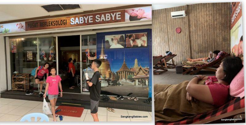 Sabye Sabye massage