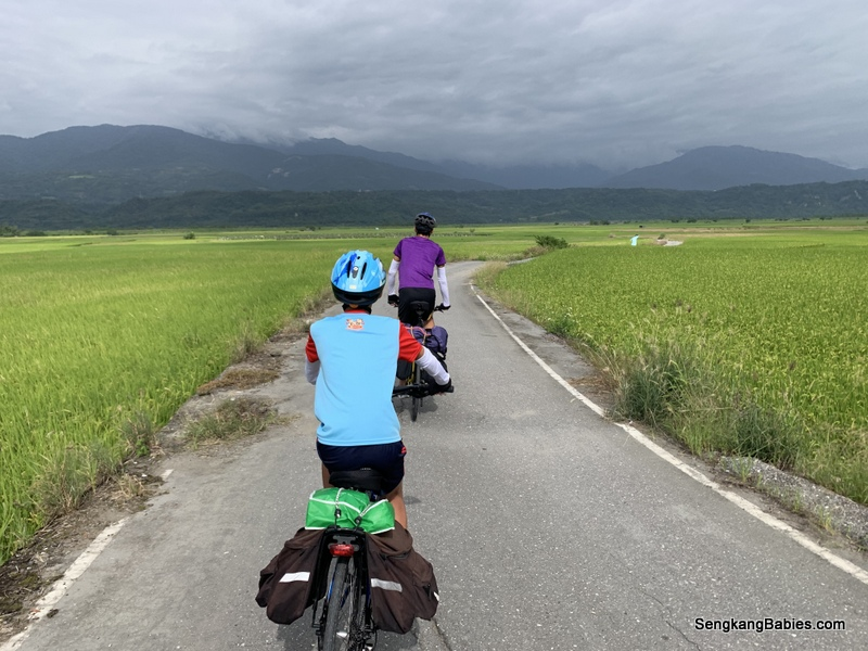 Cycling Hualien to Taitung