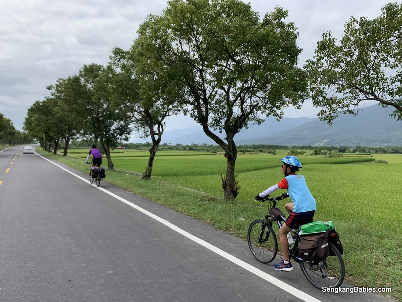 Cycling Ruisui to Yuli