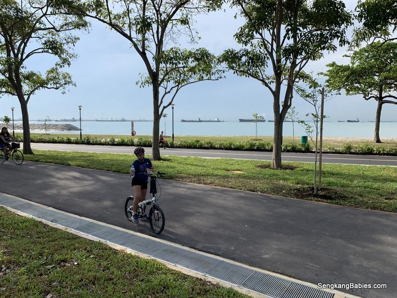 Nparks cyclist park at East Coast