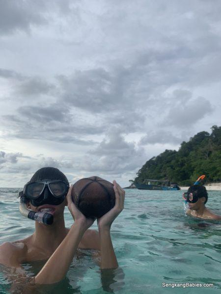 Tioman snorkeling fun