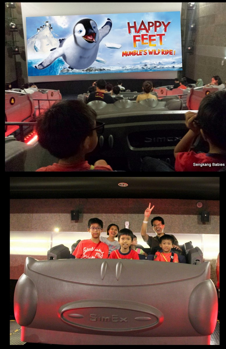 Happy Feet 4D Sentosa, Happy Feet Mumba, Happy Feet penguin
