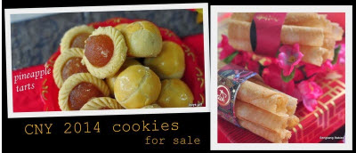 2014 CNY cookies for sale, buying Chinese New Year cookies online