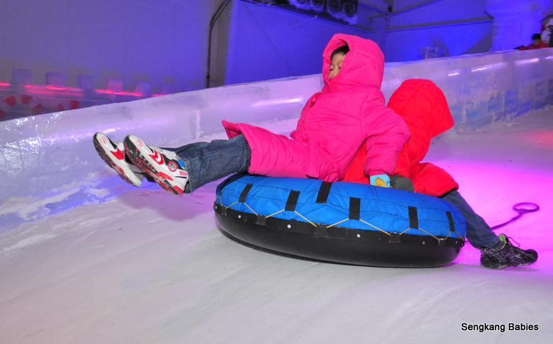 Kids fun activities at Ice Art