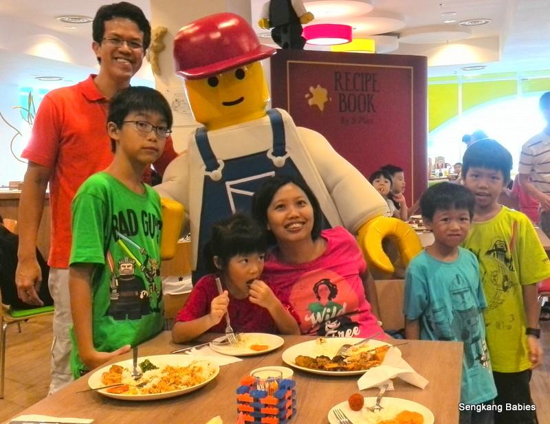 Legoland Hotel breakfast